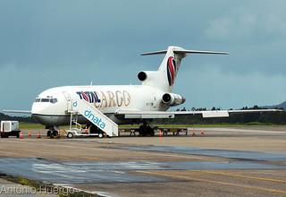 Boeing B727-200F Total Cargo, PR-TTP