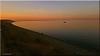 sunset (friedrichfrank1966) Tags: sonnenuntergang sunset sky insel nordsee northsea ufer promenade himmel blue scenery licht light blauestunde germany snapshot handyshot juni june summer sommer water wasser ozean ocean samsung