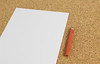 Weißes Blatt Papier mit rotem Bleistift (marcoverch) Tags: white notes wallboard paper office blank pencil red note hinweis papier notebook notizbuch noperson keineperson leer büro stationery schreibwaren empty pad reminder erinnerung stilllife stillleben writing schreiben wood holz education bildung laptop write bookbindings buchbindungen memo business geschäft bleistift mist roses colours shop pose metal island longexposure ship glass weises blatt roter