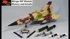 Mirage IIIC Shahak Video (Eínon) Tags: 101st tayeset ha'krav ha'rishona first fighter squadron lego israel shahak