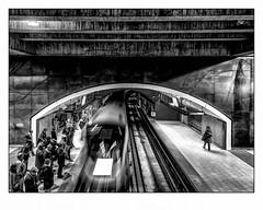 chacun sa voie. (francis_bellin) Tags: mars squarevictoria montréal voyageurs froid métro 2018