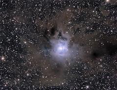 Iris Nebula (NGC 7023), compiled 2018-06-13 (astrothad) Tags: nebula space cosmos astronomy stars interstellardust irisnebula ngc7023 reflectionnebula astrophoto astrophotography sao19158 lbn487 darkmolecularcloud darknebula cepheus