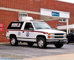 Waynesboro Area Advanced Life Support - Medic 2 (Seth Granville) Tags: 1996 chevrolet tahoe medic 2 waynesboro area advanced life support paramedic emt ems als flycar