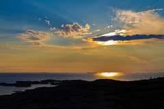 Marstrand - Sverige 2013 (karlheinz klingbeil) Tags: sverige ocean northsea schweden water sunset sweden sonnenuntergang meer wasser nordsee marstrand västragötalandslän se