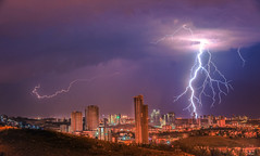 Flash (Ömer Ünlü) Tags: flash lighting thunder storm rain night black fear hell city cityscape nature clouds weather amazing interesting outdoor ankara turkey ömerünlü