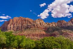 Zion_233 (allen ramlow) Tags: zion national park landscape mountain sky utah travel vacation sony a7ii