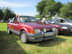 Ford Escort XR3i Cabriolet G220YPG (Andrew 2.8i) Tags: classics scolton manor haverfordwest pembrokeshire car cars classic show mark 4 iv mk mk4 cabriolet convertible open xr3 xr3i escort ford