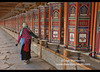 Tibetan pilgrim spinning prayer wheels, Xiahe, Gansu, China (jitenshaman) Tags: travel worldtravel destination destinations china gansu tibetan tibet chinese monastery gompa buddhist buddhism tibetanbuddhism tibetanbuddhist religious religion colourful colour tibetans pilgrim pilgrims sacred landofsnows wheel prayerwheel spin belief tradition culture cultural faith devote devotee xiahe labrang labelang labulang labrangmonastery holy kora walk faithful