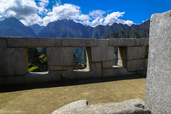 The temple of Three Windows / Храм Трёх окон (Vladimir Zhdanov) Tags: travel peru andes mountains landscape sky cloud forest machupicchu ancient ruins building architecture temple window wall templeofthreewindows