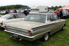 1963 Ford Fairlane 500, rear view (Davydutchy) Tags: hoornsterzwaag fryslân friesland frisia frise nederland netherlands niederlande paysbas holland oldtimer event evenement festival classic klassiker klassiek veterán car vehicle voiture auto automobile automobiel bil avto show ford usa american fairlane 500 may 2018