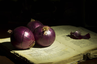 Three onions and a recipe