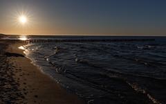 Ostsee-Strand (explored) (jmwill2005) Tags: ostsee meer strand sonne sonnenuntergang buhnen see himmel wellen zingst darss fischland nationalpark vorpommersche boddenlandschaft prerow