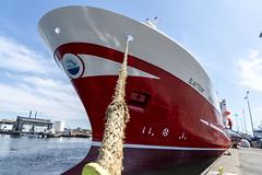 Slaatterøy (Mona_Oslo) Tags: fishingindustry ship red inharbour skagen shipyard monajohansson denmark