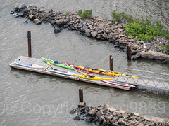 Hazard's Boat Launching Ramp on the Hudson River, Fort Lee, New Jersey (jag9889) Tags: 07024 2018 20180603 aerialview bergencounty dock fortlee gardenstate hazardsramp kayak kayaker kayaking nj newjersey newjerseysection outdoor pip paddling palisades palisadesinterstatepark park ramp usa unitedstates unitedstatesofamerica jag9889 zip07024