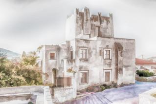6230T4hN Barozzi Tower, Filoti, Naxos