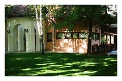 Hotel 🍀Cuprija,Serbia (Jerry501) Tags: film analog garden kodak portra400 leica m6 50mm carlzeiss colorful serbia travel