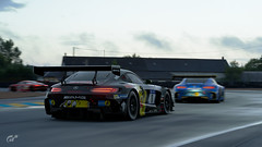 LeMans (Ghost=) Tags: mercedes benz amg gt gt3 audi r8 lemans germany 24h gran turismo sport ps4