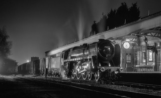 70013 on the GCR - Night Photography
