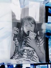 iPhone 2018 06 11 - Sheet of 8x10 Xray Drying (Sibokk) Tags: anna camera digital intrepidcamera iphone mobile photography scotland uk xray film edinburgh 8x10 largeformat kodak ektar 203mm