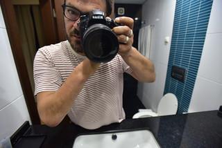 [il maniaco dei bagni ] all'Hotel Africa di Maputo