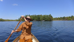 canoe trip on Pike Lake 2