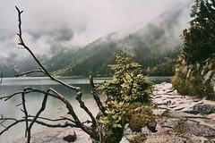 14D9EADC-CEE9-46FD-84BA-1FB0B65730CD (jullietserov) Tags: mountain mountains poland zakopane lake nature forest water fog waterfall rain clouds trees bridge