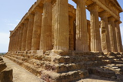 Memory of Italy (Let Ideas Compete) Tags: greekruins akraga valleyofthetemples temple greektemple agrigento sicily valledeitempli history