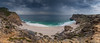 cape of good hope (peter birgel) Tags: southafrica capeofgoodhope sea cove landscape rain diasbeach capepoint cliff dramaticclouds sky bay nikon d500 pano