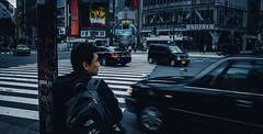 Waiting for Shibuya (Mike Kniec) Tags: shibuya shibuyacrossing tokyo japan streetphotography streetsofjapan sony sonya7 shibuyacrossingintokyo astringentvalley shibuyascramble road street cityscape city urban japanese japanesetaxi photo