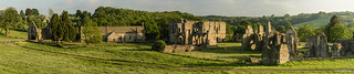 Easby Abbey Panorama