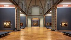 Gallery of honour, Rijksmuseum (reinaroundtheglobe) Tags: rijksmuseum amsterdam noordholland nederland netherlands indoors architecture museum art paintings nightwatch rembrandt gallery