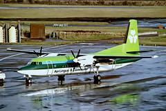 EI-FKF   Fokker F-50 [20209] (Aer Lingus Commuter) Edinburgh-Turnhouse~G @ 11/1991 (raybarber2) Tags: 20209 alpechacollection approachtodo cn20209 egph eifkf flickr irishcivil negative propliner