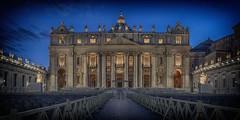 Basilica di San Pietro. (LDLS17) Tags: roma rome vaticano plazadesanpedro piazzasanpietro basilica basilicadesanpietro