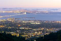 Bayglow (Decaseconds) Tags: cityscape bay area berkeley emeryville sanfrancisco bridge california sunset longexposure