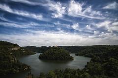 Meandre del Ter, _DSC1792 (Francesc //*//) Tags: catalunya catalonia cataluña ter meandre riu rio meandro cel núvols nuages clouds