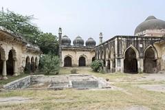 Mausolée de Shah Wilayat à Narnaul, Inde (voyagesphotos) Tags: asia asie architecture india inde haryana narnaul landscape paysage shah wilayat tombeau tomb tombe
