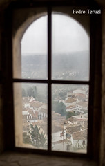 ventana con historia (el pueblo desde el castillo) (pedrojateruel) Tags: amor al arte ventanas con historia castillo de vélez blanco almería andalucía inspiraciónbdf63
