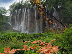 Veliki Slap (Big Waterfall) (ladigue_99) Tags: velikislap plitvicelakesnationalpark croatia hrvatska rastovača waterfall bigwaterfall plitvicaselo nacionalniparkplitvičkajezera unescoworldheritagesite