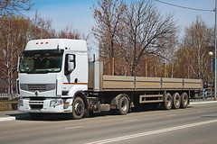 Renault Premium 380  У 328 KO 45 (RUS) (zauralec) Tags: kurgan karlmarxstreet город курган улица транспорт автомобиль грузовик renault premium 380 у 328 ko 45 rus