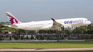 A7-ALZ Qatar Airways Airbus A350-941