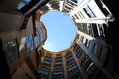 IMG_9543 La Pedrera (Casa Milà) (drayy) Tags: spain barcelona gaudi house apartment apartments building architecture lapedrera casamilà casamila antonigaudí gaudí