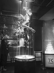 artist. TK Shibuya. (framingthestreets) Tags: •japan tokyo shinjuku shibuya odaiba takadanobaba •blackandwhite blackandwhite streetphotography streetphotographer daidomoriyama streertart reality reallife livingthemoment captured framed patty partytime girls dancer stripper poledance lightshow tkshibuya metro tokyosubway jrline tk