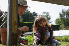 Edinburgh Botanic Gardens BioBlitz 2018 -129 (Philip Gillespie) Tags: • edinburgh royal botanic gardens 2018 big bioblitz bio blitz kids children men women man woman people fun faces smiles water wet insects bugs moths spiders legs arms eyes hats grass trees bushes plants short pool sun sky pond lilly wings park nature colour green blue red yellow orange purple science teach record check house cottage photo photography canon 5dsr rbgenature thebotanics dipping worms birds bigbotanicsbioblitz