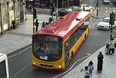 MC 75 @ Station Street, Birmingham (ianjpoole) Tags: midland classic scania l94ub wright solar yn57fwg 75 working west midlands railway rail replacement bus service from lichfield trent valley birmingham new street