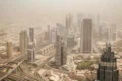 (ilConte) Tags: dubai uae unitedarabemirates emiratiarabiuniti sandstorm city città stadt urban urbanview urbanlandscape