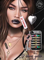 ... SpotCat ... Necklace - I love you (Sasha Spot) Tags: limit8 spotcat secondlife necklace i love you