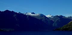 Fiordland, New Zealand. (jenichesney57) Tags: blue mountains snow peaks fiordland newzealand panasoniclumix sky water