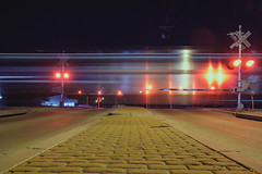 Zoom by (◀︎Electric Funeral▶︎) Tags: omaha midwest councilbluffs nebraska lincoln fremont desmoines kansascity kansas missouri iowa freight train traincar railway railroad railcar benching benched freighttrain rollingstock fr8train fr8heaven fujifilm xt2 longexposure nightshot digital photography amtrak