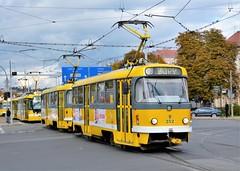 Plzeň, Sady Pětatřicátníků 19.10.2016 (The STB) Tags: tatrawagen tram tramway strassenbahn strasenbahn publictransport citytransport pilsen öpnv