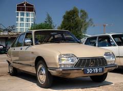 Citroën GS Pallas (Skylark92) Tags: nederland netherlands holland noordholland amsterdam noord north ndsm werf yard youngtimer event 2018 car road tree sky people citroen gs pallas 1975 30yb11